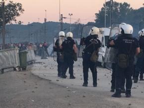 Μήνυση θα καταθέσει η Ένωση Αστυνομικών Υπαλλήλων Θεσσαλονίκης για τους χθεσινούς τραυματισμούς στην Ειδομένη