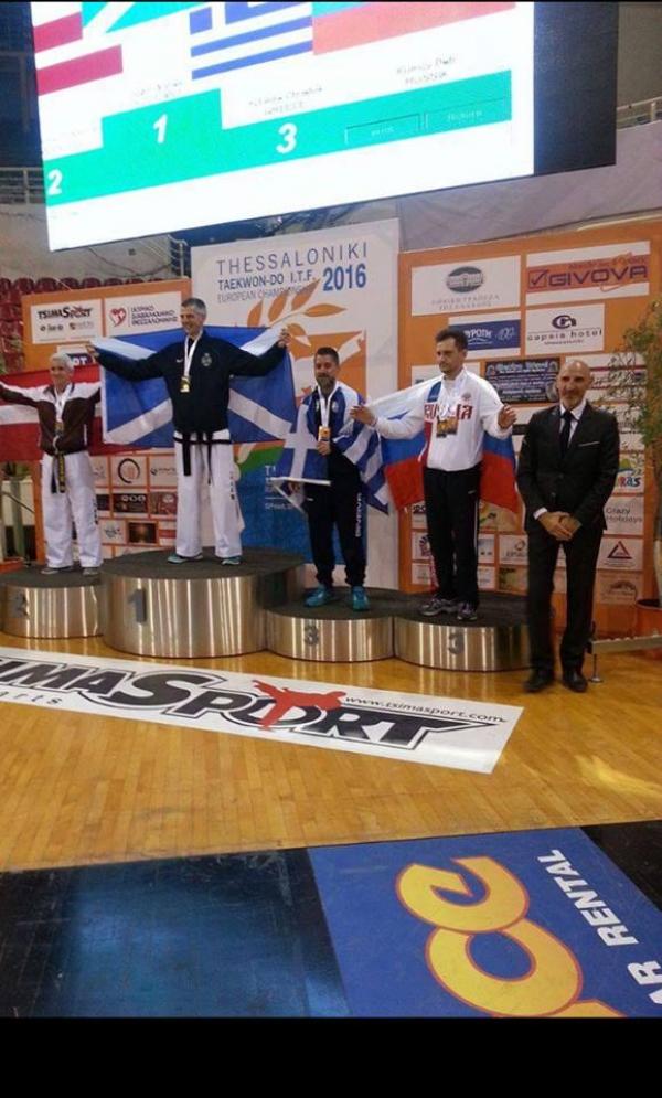 Tην τρίτη θέση στους πανευρωπαϊκούς αγώνες βετεράνων Τάε Κβον Ντο κατέκτησε ο Αστυνομικός της ΟΠΚΕ Θεσσαλονίκης ΦΩΤΙΑΔΗΣ Χρήστος.