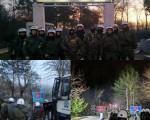 Στην πρώτη την γραμμή οι Έλληνες Αστυνομικοί για